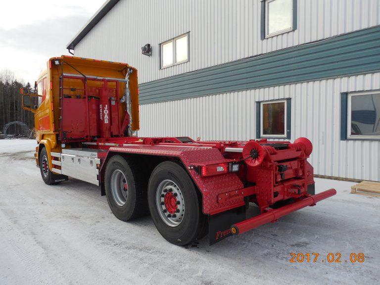 Scania R450 med Joab lastväxlare L20