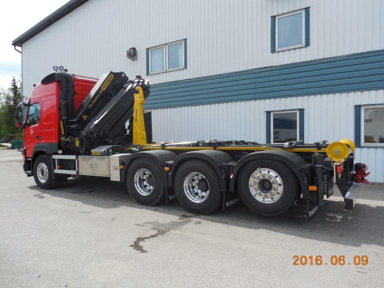 Volvo FMX, lastväxlare Palfinger T17