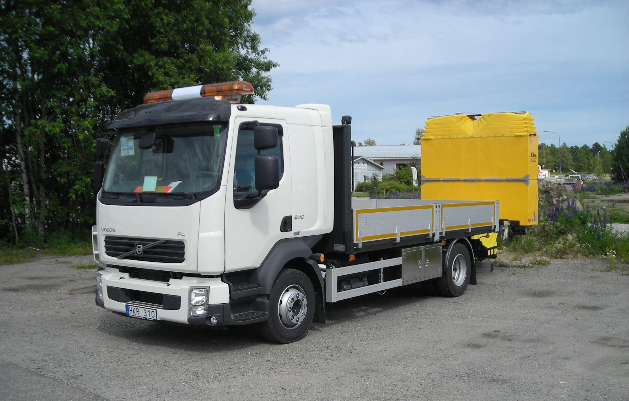 Flakbyggnation - Volvo FL 240