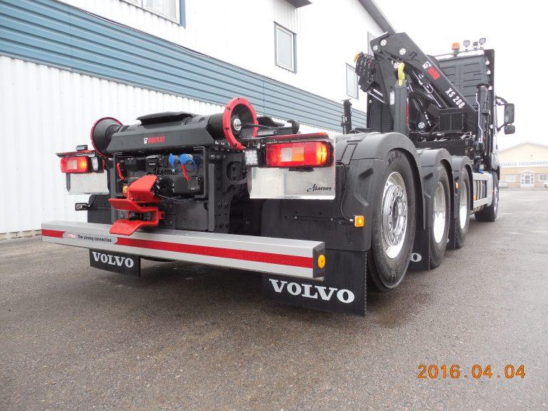 Volvo FM 8x4 med Hiab 288EP-5, växlare XR21